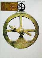 ASTROBAL PORTUGAIS Année 1610 Trouvé à Nagasaki Japon - Carte Maximum Card ( Lisboa) 1983 - Technique Nautique & Instruments