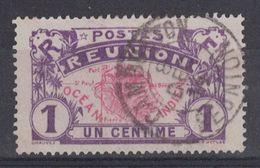 """BELLE OBLITÉRATION CAD De 1914 """" CAMBUSTON RÉUNION """" Sur TIMBRE 1c (ÉTAT) - Réunion (1852-1975)"""