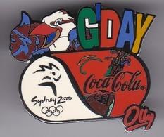 PIN DE COCA-COLA DE LAS OLIMPIADAS DE SYDNEY 2000 - GOD DAY (COKE) MASCOTA OLLY - Coca-Cola