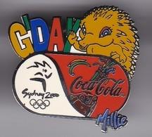 PIN DE COCA-COLA DE LAS OLIMPIADAS DE SYDNEY 2000 - GOD DAY (COKE) MASCOTA MILLIE - Coca-Cola