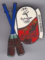 PIN DE COCA-COLA DE LAS OLIMPIADAS DE SYDNEY 2000 - ENJOY ROWING (COKE) OLYMPIC GAMES - Coca-Cola