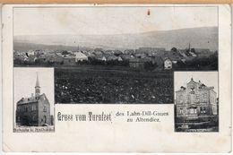 Altendiez (Diez, Westerwald) Gruss Vom Turnfest Des Lahn-Dill-Gaues, Um 1900 - Diez