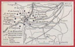 Camp Retranché De Liège. Première Guerre Mondiale. Belgique. Larousse 1960 - Documents Historiques