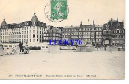 Trouville Sur Mer Trouville Palace Et Hotel De Paris - Trouville