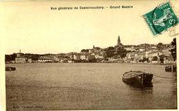 CASTELNAUDARY =   Grand Bassin  (carte Glacée Couderc)  1933 - Castelnaudary