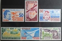 Kamerun 843-848 ** Postfrisch #UL132 - Vliegtuigen