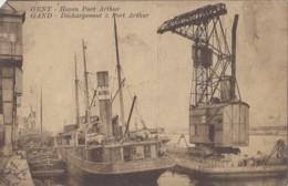 """Transports - Bâteaux - Commerce - Bâteau Vapeur """"Northdale"""" Péniche Grue - Port Arthur Gand - Commercio"""