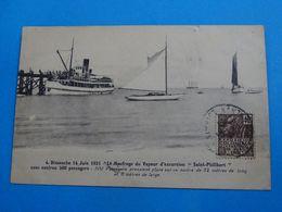 """44 )  14 Juin 1931 - N° 4 """" Le Naufrage Du Vapeur D'excursions """" SAINT-PHILIBERT """"  Avec 500 Passagers : EDIT : Nozais - Unclassified"""