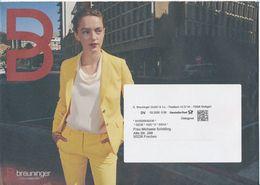 BRD / Bund Stuttgart Dialogpost DV 03.2020 0,58 Euro Breuninger Mode Frau Hosenanzug - Covers