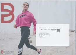 BRD / Bund Stuttgart Dialogpost DV 03.2020 0,58 Euro Breuninger Mode Frau Sportbekleidung - Covers
