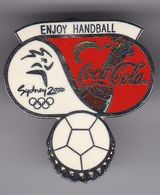 PIN DE COCA-COLA DE LAS OLIMPIADAS DE SYDNEY 2000 - ENJOY HANDBALL - BALONMANO (COKE) OLYMPIC GAMES - Coca-Cola