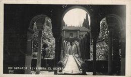GRANADA. ALHAMBRA. EL GENERALIFE - Granada