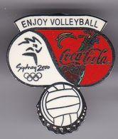 PIN DE COCA-COLA DE LAS OLIMPIADAS DE SYDNEY 2000 - ENJOY VOLLEYBALL - VOLEIBOL (COKE) OLYMPIC GAMES - Coca-Cola