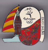 PIN DE COCA-COLA DE LAS OLIMPIADAS DE SYDNEY 2000 - ENJOY SAILING - VELA (COKE) OLYMPIC GAMES - Coca-Cola
