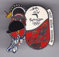 PIN DE COCA-COLA DE LAS OLIMPIADAS DE SYDNEY 2000 - ENJOY PENTATHLON (COKE) OLYMPIC GAMES - Coca-Cola