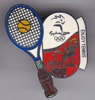 PIN DE COCA-COLA DE LAS OLIMPIADAS DE SYDNEY 2000 - ENJOY TENNIS- TENIS (COKE) OLYMPIC GAMES - Coca-Cola
