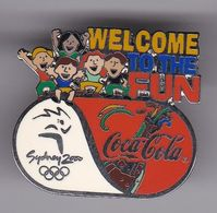 PIN DE COCA-COLA DE LAS OLIMPIADAS DE SYDNEY 2000 - WELCOME TO THE FUN (COKE) OLYMPIC GAMES - Coca-Cola