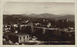 GRANADA. MURALLAS Y ALHAMBRA - Granada