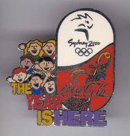 PIN DE COCA-COLA DE LAS OLIMPIADAS DE SYDNEY 2000 - THE YEAR IS HERE (COKE) OLYMPIC GAMES - Coca-Cola