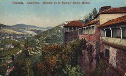 GRANADA. ALHAMBRA. MIRADOR DE LA REINA Y SACRO MONTE - Granada