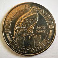 Monnaie De Paris 46.Rocamadour - Rocher Des Aigles 2007 - Monnaie De Paris