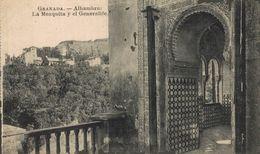 GRANADA. ALHAMBRA.GENERALIFE Y LA MEZQUITA - Granada