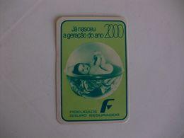 Insurance Assurances Seguros Fidelidade Vila Nova De Famalicão Portugal Portuguese Pocket Calendar 1983 - Calendriers