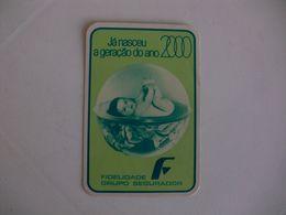 Insurance Assurances Seguros Fidelidade Braga Portugal Portuguese Pocket Calendar 1983 - Calendriers