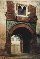 GRANADA. ALHAMBRA. PUERTA DEL VINO - Granada