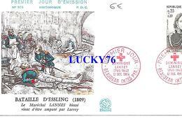 Enveloppe 1 Er Jour Bataille D'essling 1964 - 1960-1969