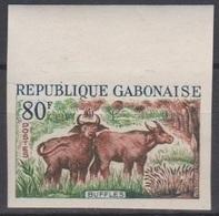 Gabon 1964  N° 173  Buffles  Buffalos  Imperf  ** MNH - Timbres