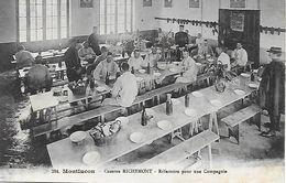 MONTLUCON - Caserne Richemont Refectoire Pour Une Compagnie - Montlucon