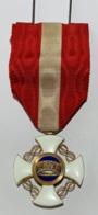 Italie. Croix De Chevalier De L'Ordre De La Couronne. - Royal/Of Nobility
