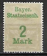 BAVIERE   -   FISCAL   -    Le 2 Mark . Neuf *. - Bavaria