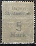 BAVIERE   .  FISCAL  .  Le 5 Mark . Neuf *. - Bavaria