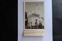 PHOTO MARECHAL PETAIN EN AVIGNON VAUCLUSE PLACE HOTEL DE VILLE  GUERRE 39 45 MILITAIRE TEXTE - Guerra, Militari