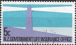NEW ZEALAND 1981 Life Insurance - Lighthouse - 5c - Multicoloured FU - Officials