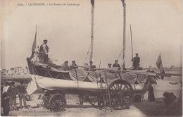 QUIBERON : Le Bateau De Sauvetage . - Quiberon