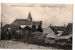 BEAUMONT VILLAGE L EGLISE - Autres Communes