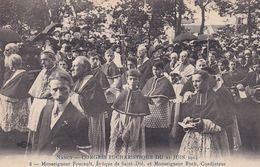 CP 54 Meurthe Et Moselle Nancy Congrès Eucharistique 21 Juin 1914 Mgr Foucault Evêque St Dié Ruch Coadjuteur - Nancy