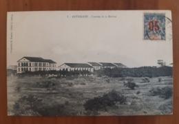 Sultanat D'Anjouan - Timbre Surchargé 05/15, Seul Sur Document, CP - TAD Diego Suarez - Destination Romilly Sur Seine - Anjouan (1892-1912)