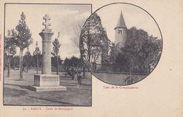 CP 54 Meurthe Et Moselle Nancy Croix De Bourgogne Tour De La Commanderie 62 Maison Magasins Réunis - Nancy