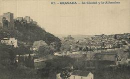 GRANADA. LA CIUDAD Y LA ALHAMBRA - Granada
