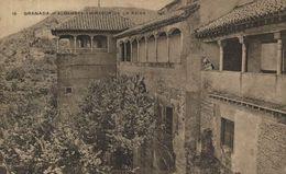 GRANADA. ALHAMBRA MIRADOR DE LA REINA - Granada