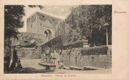 GRANADA. ALHAMBRA. PUERTA DE LA JUSTICIA - Granada