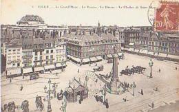 Nord        542        Lille.La Grand'place.La Bourse.La Déesse.Le Clocher .... - Lille