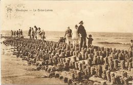 WENDUINE - Le Brise-Lames - Oblitération De 1935 - Wenduine