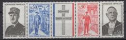 France: 1971. Y&T  N° 1695/98 En Bande ** MNH, Neuf(s). Cote Y&T 2020 : 3 € - France