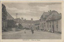 LUXEMBOURG - GROSBOUS - PLACE DE L'EGLISE - Plusieurs Personnes Et Enfants - Cartes Postales