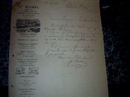 Facture Jh.Michel à Albi Usines & Minoterie Gare De Lexos Varen  Année 1905 - Alimentaire